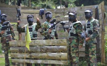 Outbound paintball di pncak