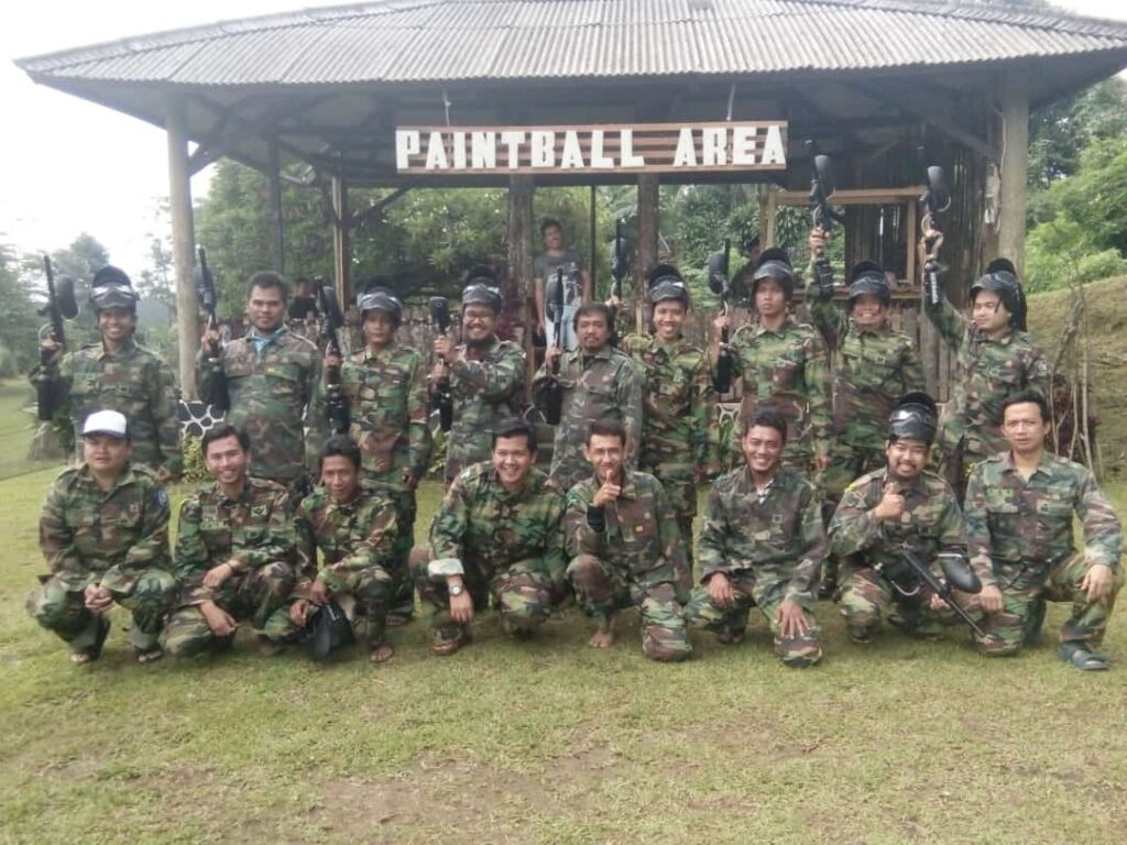 Outbound Paintball puncak 2021